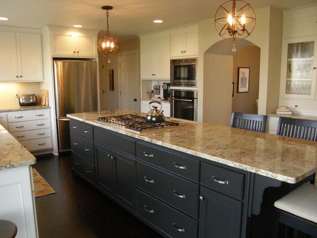 Kitchen Redesign & Remodel traditional-kitchen
