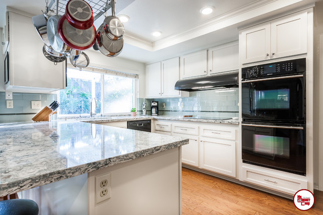 Kitchen Reface Anaheim Transitional Kitchen Orange County By Mr Cabinet Care