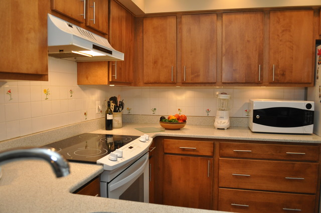 ... Reface - Modern - Kitchen - dc metro - by Kitchen Magic Refacers, inc