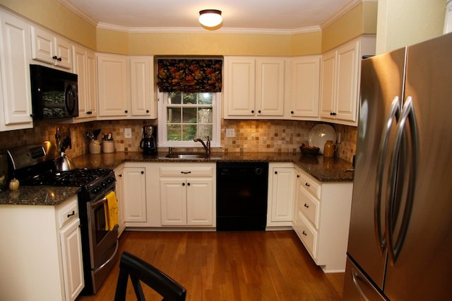 Kitchen Reface - Traditional - Kitchen - dc metro - by ...