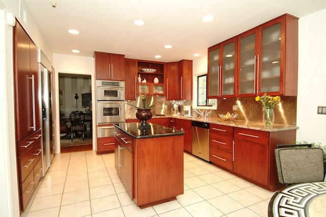 Kitchen Reface - Contemporary - Kitchen - DC Metro - by ...