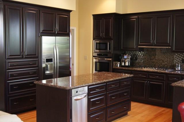 Kitchen Cabinets Espresso Finish wood kitchen cabinets » beech wood kitchen cabinets - inspiring