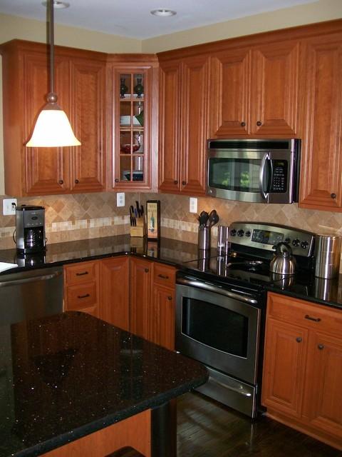 Kitchen reface traditional kitchen dc metro by kitchen magic