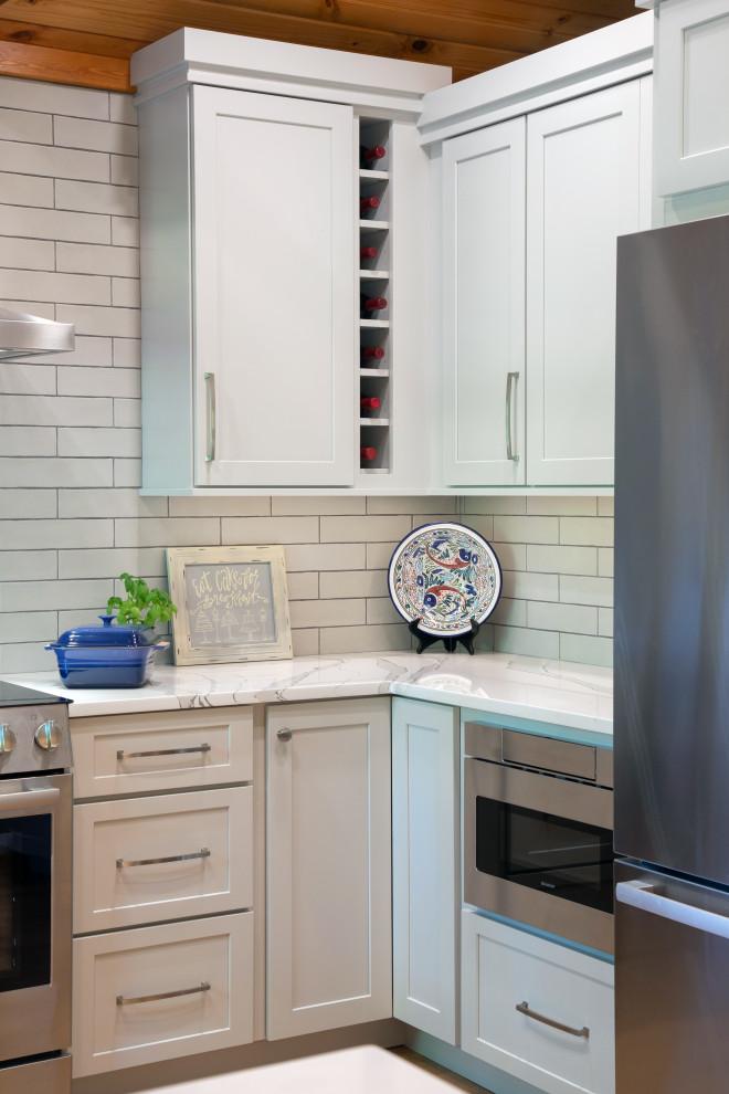 Kitchen Refresh Inspires Homeowner - Traditional - Kitchen ...