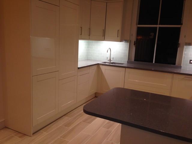 Kitchen refurbishments modern kitchen london by for Kitchen cabinets 08857