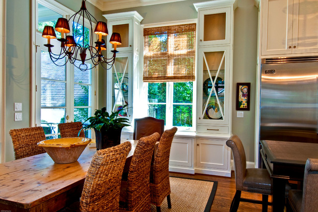 """Remodel - Interior:  """"A Finished Look"""" traditional-kitchen"""