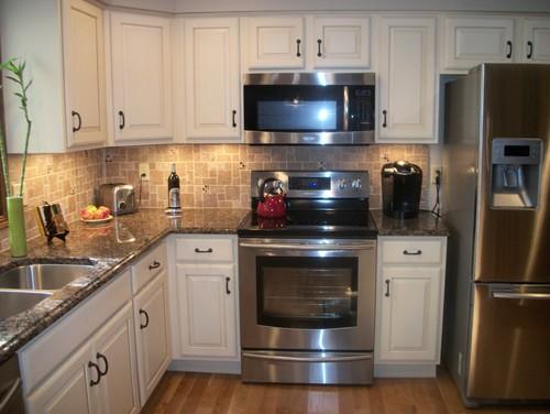 Baltic Brown Granite Kitchen Countertop Design Ideas