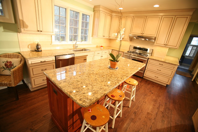 Kitchen Remodel and Breakfast Room Addition, Evanston, IL traditional-kitchen