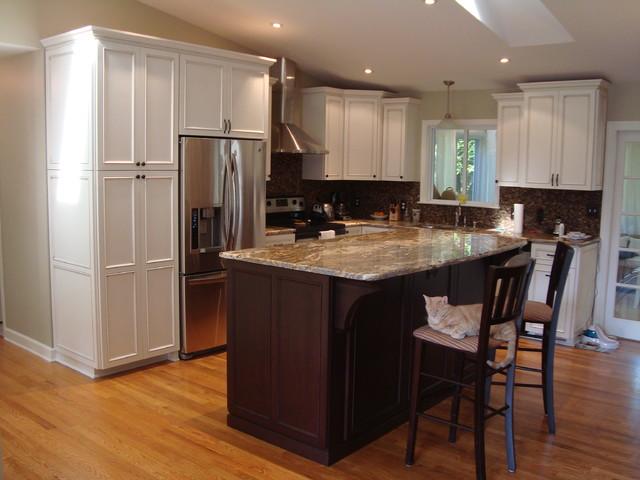 Kitchen Remodel - Annapolis Split Foyer Home - Kitchen ...