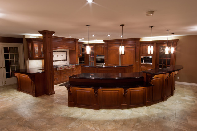 Kitchen remodel traditional kitchen montreal by for Kitchen design montreal