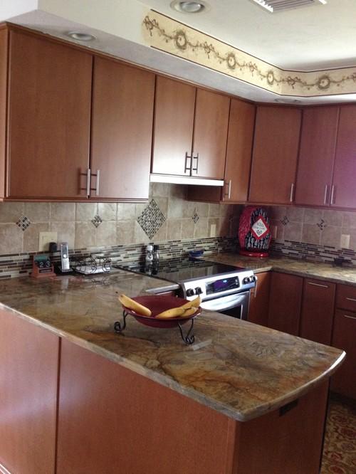 Fusion Quartzite Countertop Kitchen Design Ideas