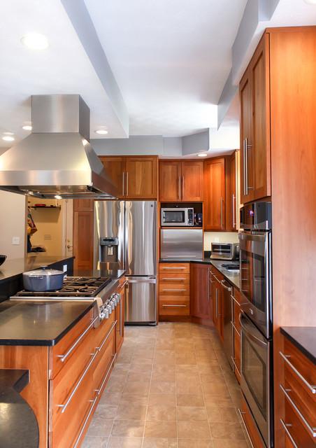 Kitchen Remodel Bedford NH Transitional Kitchen