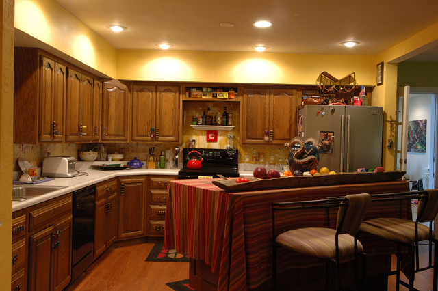 Kitchen Remodel Before and After contemporary-kitchen