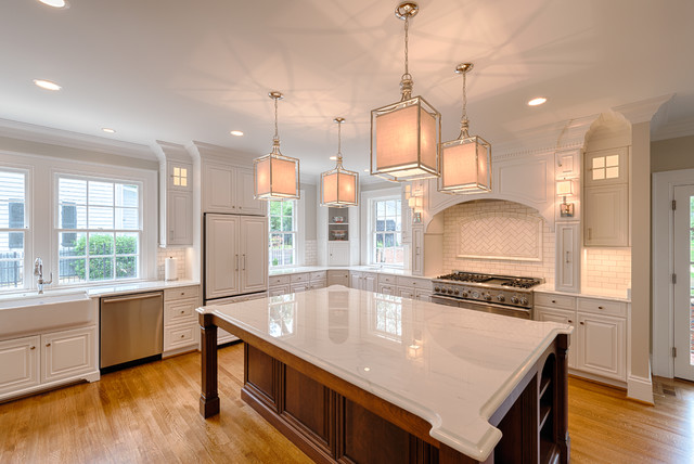 Kitchen remodel bright light and open floor plan - Open floor plan kitchen ...