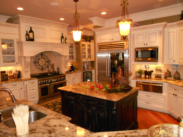 delightful Kitchen Remodeling Alpharetta Ga #7: Kitchen Remodel Cleint Pergola-The Manor County Club Alpharetta,GA  traditional-kitchen
