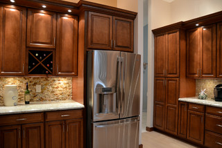 Kitchen Remodel - Cooper City, FL - Contemporary - Kitchen - miami - by KabCo Kitchens