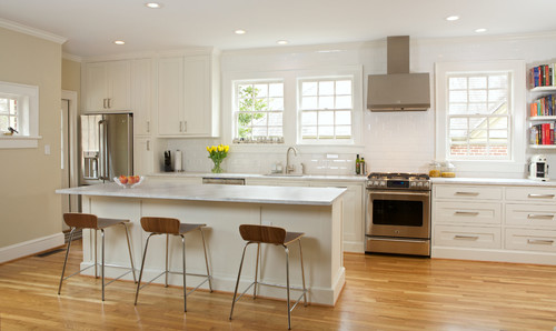 Contemporary Kitchen in Virginia Highlands Atlanta GA