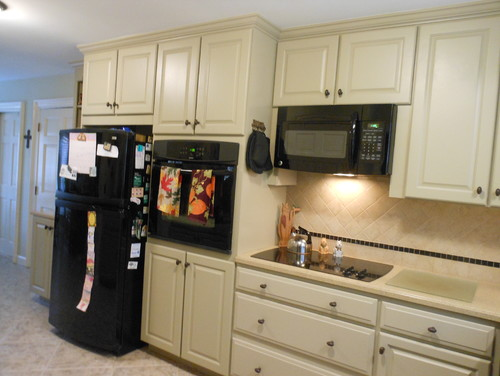 wall cabinet liance case - Kitchen Wall Oven Cabinets