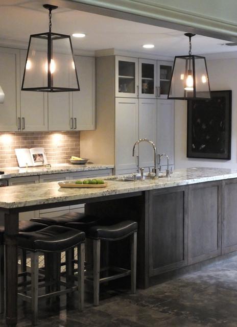 Kitchen Remodel Eclectic Kitchen Houston By Courtney Aurora Design Group Llc
