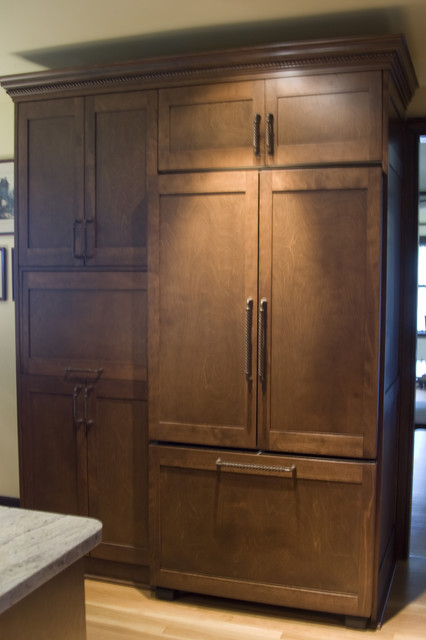 Kitchen Remodel - Custom Cabinets traditional-kitchen