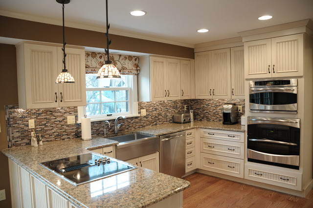 Kitchen Remodel (Dura Supreme Crestwood with Vintage Beaded Panel ...