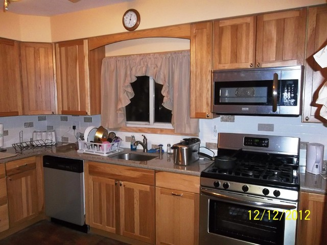 Kitchen Remodel Elizabeth , NJ - Traditional - Kitchen - new york - by Lowe's of Union New Jersey