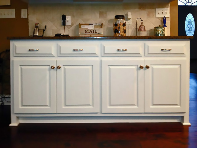 Kitchen Remodel Featuring Painted Cabinets - Traditional - Kitchen - houston - by Flawless ...