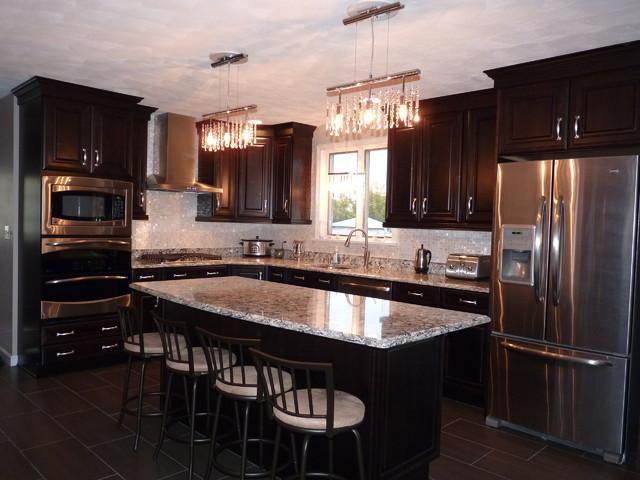 Kitchen Remodel for 40th Birthday! - Modern - Kitchen - Boston