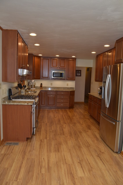 Kitchen remodel for Steve and Jan B. - Traditional - Kitchen ...