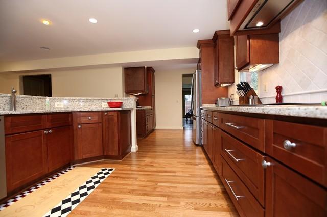 Kitchen remodel frank arlington va transitional for Kitchen remodeling arlington va