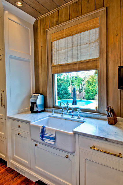 Kitchen Remodel:  French Country Meets Rustic traditional-kitchen
