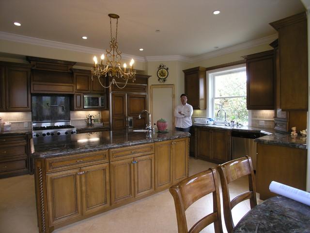 kitchen remodel mediterranean kitchen houston by gold star design construction
