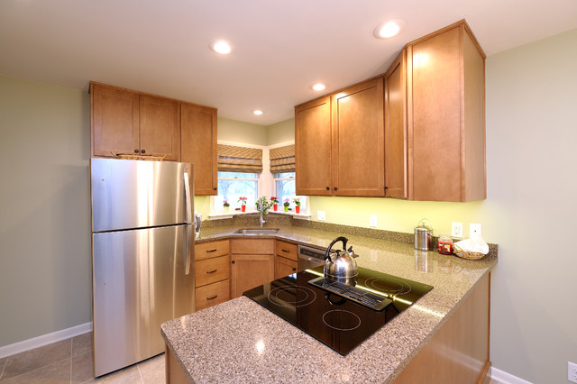 Kitchen remodel great northern cabinets transitional for Bathroom cabinets grand rapids mi