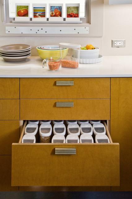 Kitchen Remodel contemporain-cuisine