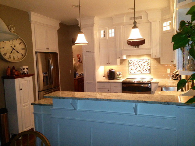 Kitchen remodel traditional kitchen baltimore for Baltimore kitchen remodeling