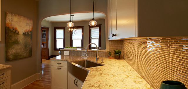 Kitchen Remodel in Minneapolis Craftsman Style Home contemporary-kitchen