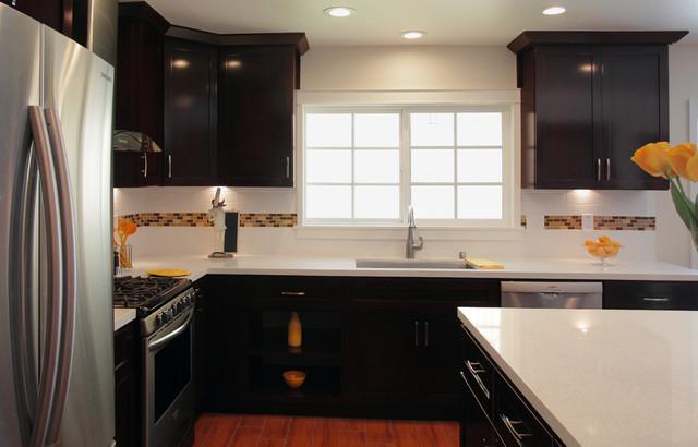 Kitchen Remodel in Montebello contemporary-kitchen