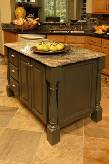 Kitchen Remodel Island Traditional Kitchen Houston