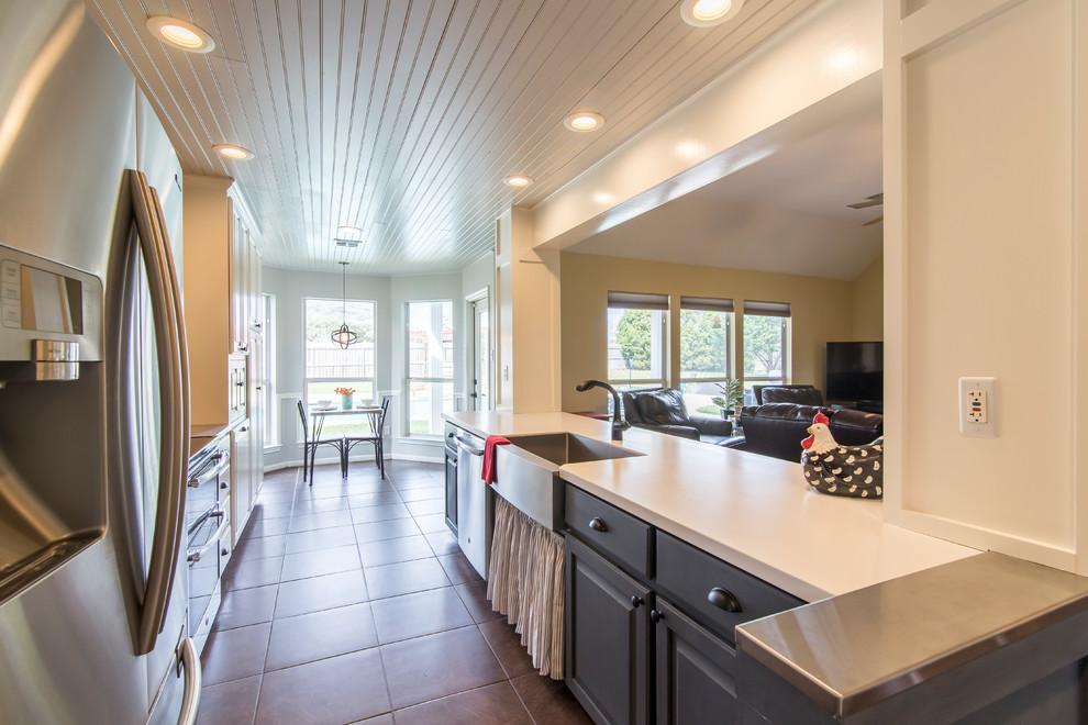 Kitchen Remodel - Lakewood Ranch, Belton, TX - Farmhouse ...