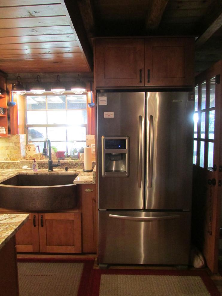 Kitchen remodel-Log home - Eclectic - Kitchen - Orlando ...