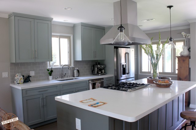 kitchen remodel los angeles project 89th complete view modern
