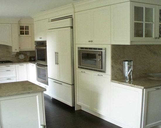 824 Kitchen Design Photos with Stainless Steel Appliances, Beige