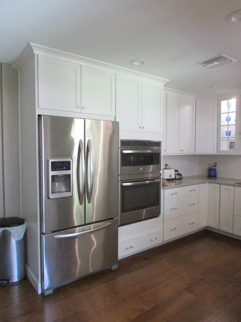 Kitchen remodel maximizing space in a small kitchen transitional kitchen orlando by - Maximize space in small kitchen property ...