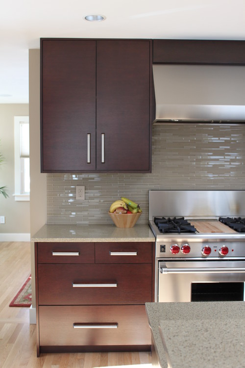 DId You Use Star Quartz Grout With This Glass Tile Backsplash If Not What