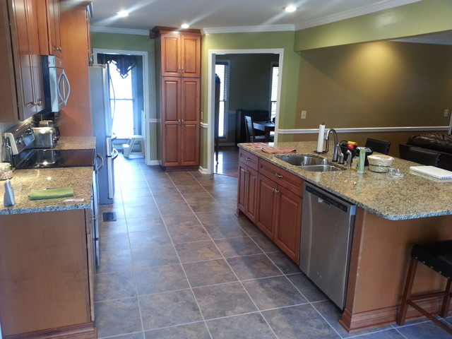 Kitchen Remodel - Open Floor Plan, Large Island traditional-kitchen