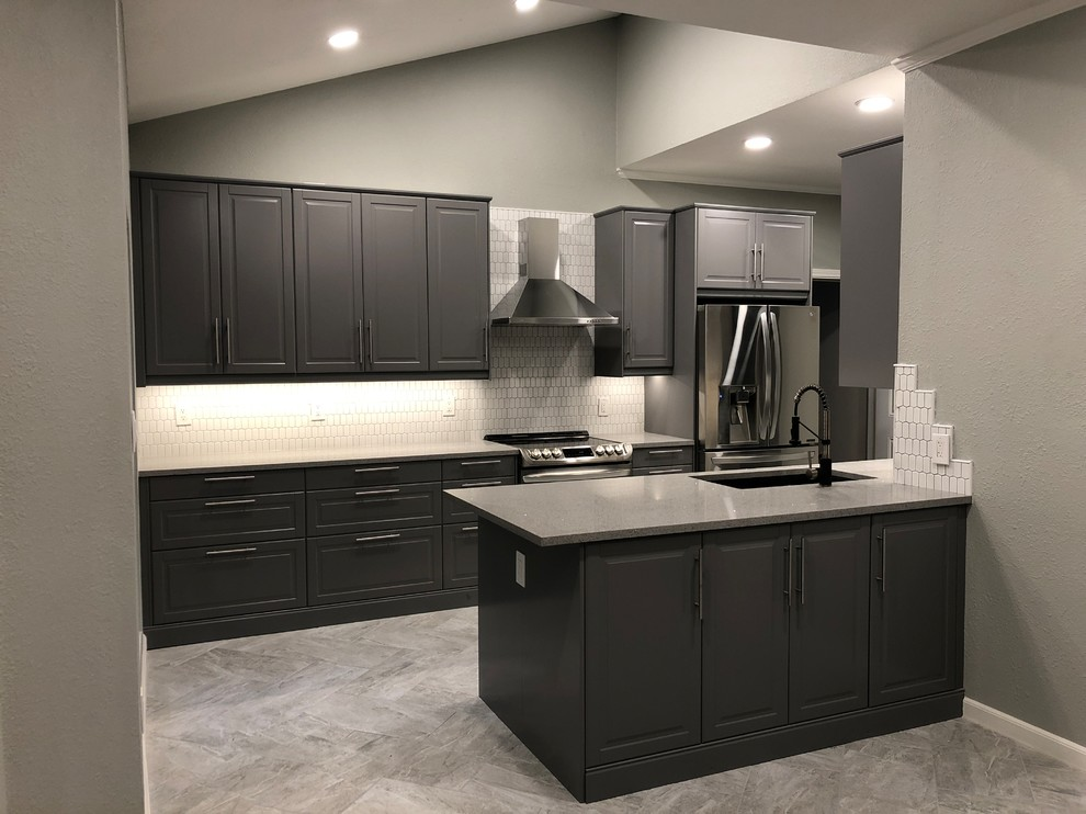 Kitchen Remodel Plano Tx With Ikea Cabinets Contemporary Kitchen Dallas By Rush Remodeling Dfw