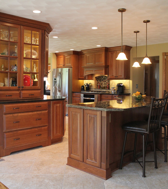 Kitchen remodel removing walls /soffits traditional-kitchen