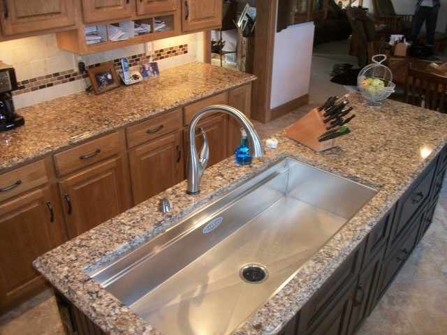 Kitchen remodel with galley sink wellington oh for Galley kitchen sink
