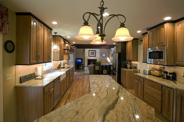 Philadelphia Kitchen Remodeling Concept Property Kitchen Remodel With Open Concept Family Room  Traditional .