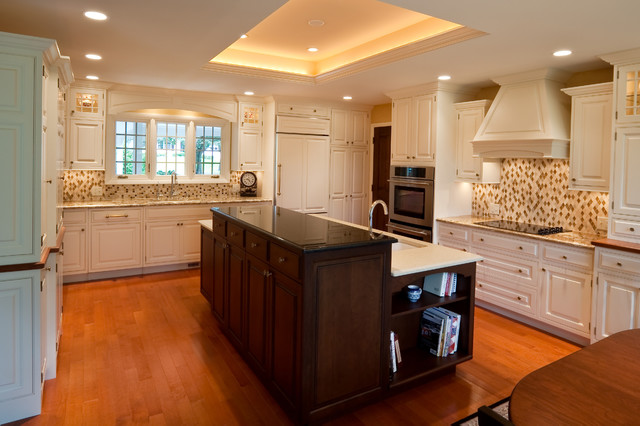Kitchen Remodel With Tray Ceiling Contemporary Kitchen